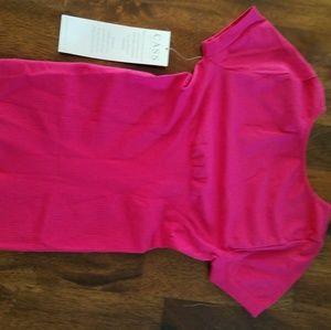 Cass hot pink shapewear top